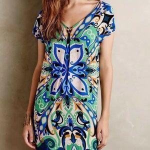 🎉 Host Pick! Anthropologie Maeve Bird Print Dress